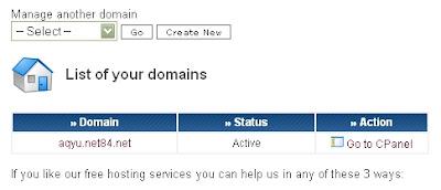 Install CMS Otomatis Menggunakan Fantastico Autoinstaller 000webhost