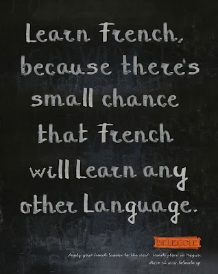 Learn French Ad