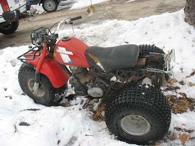 watch more like honda atc es my favorite part is it is already tagged and good till next year 1984 honda atc 200es