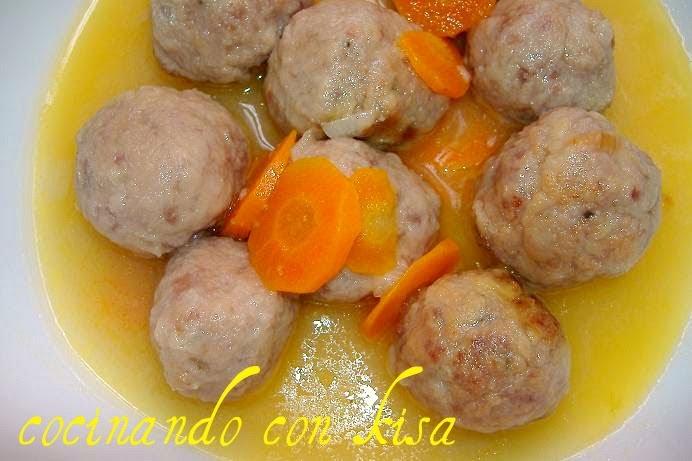 Cocinando con kisa albondigas en salsa de zanahoria for Cocinando con kisa
