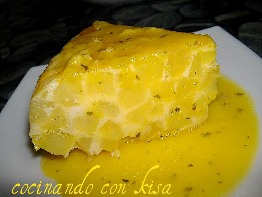 Cocinando con kisa tortilla de papatas en salsa de for Cocinando con kisa