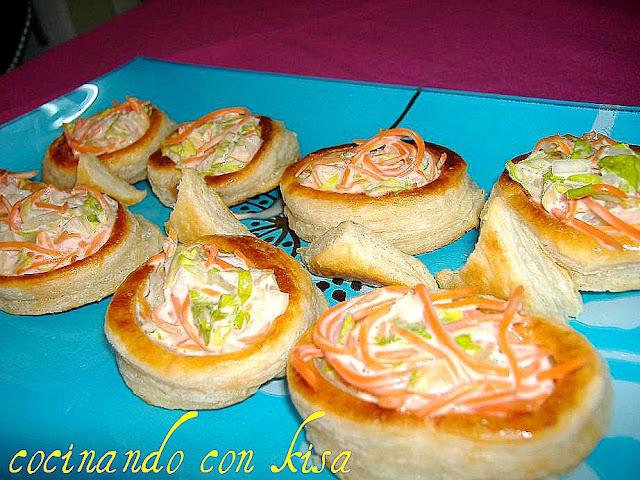 Cocinando con kisa voulavents rellenos fussioncook for Cocinando con kisa