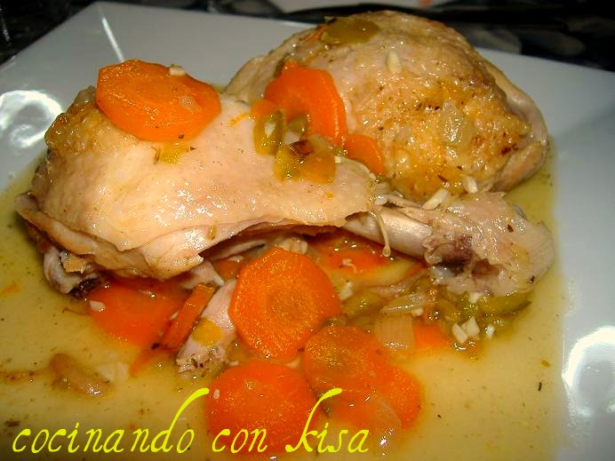 Preparar muslos de pollo en salsa receto for Muslos pollo en salsa