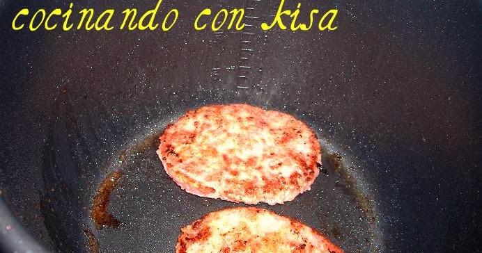 Cocinando con kisa hamburguesas fussioncook for Cocinando con kisa