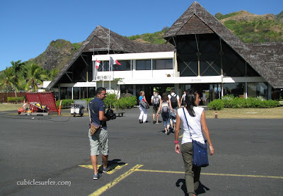 Moorea Airport, French Polynesia