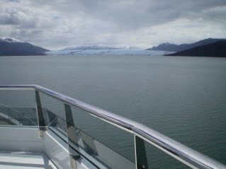 Next glacier, 3 kms across