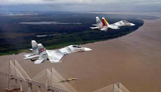 Cazas Su-30 MK2 Venezolanos