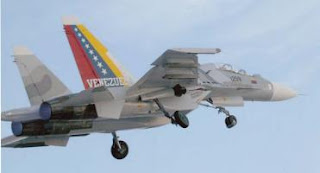 Avión caza pesado Su-30 Mk2 Venezolano