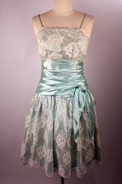 Mint Green Bridesmaid Dresses on Citystyle      The 80 S Prom Dress