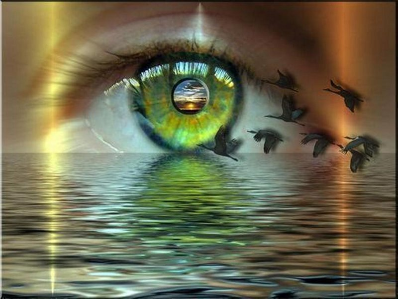 Os olhos são a lâmpada do corpo. Eleve sua vibração.