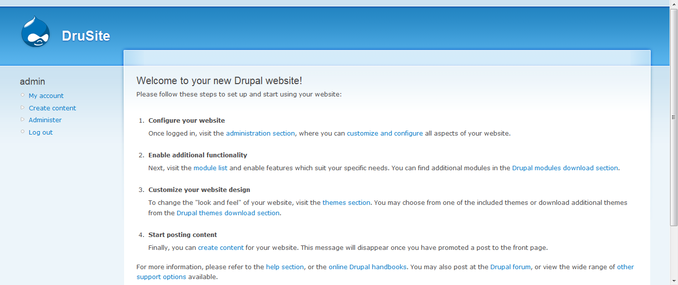 Learning php tutorial drupal creating homepage part 1 and we going to create something like goingon but without its theme i think its just company profile so its supposed to be easy i hope baditri Gallery