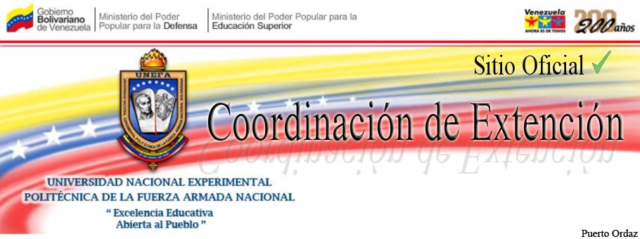 Cord. de Ext. UNEFA PUERTO ORDAZ
