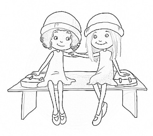 Milly Molly Colring Free Coloring Pages Molly Coloring Pages