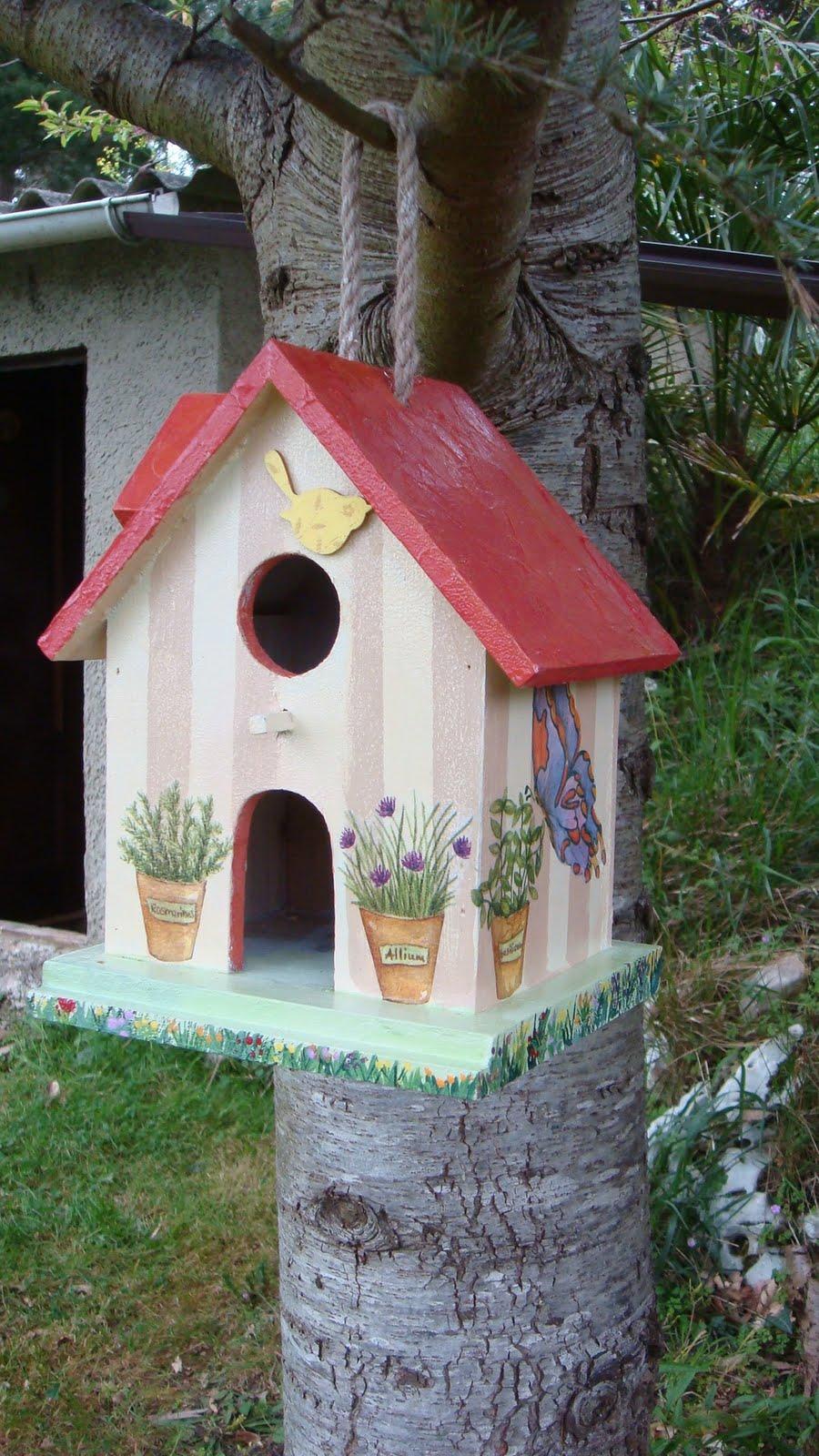 casita para pajaros