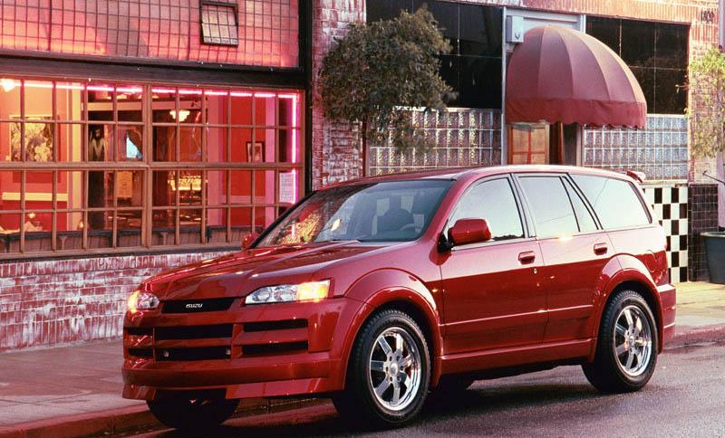 2001 Honda Model X Concept. Isuzu Axiom XSF Concept, 2001