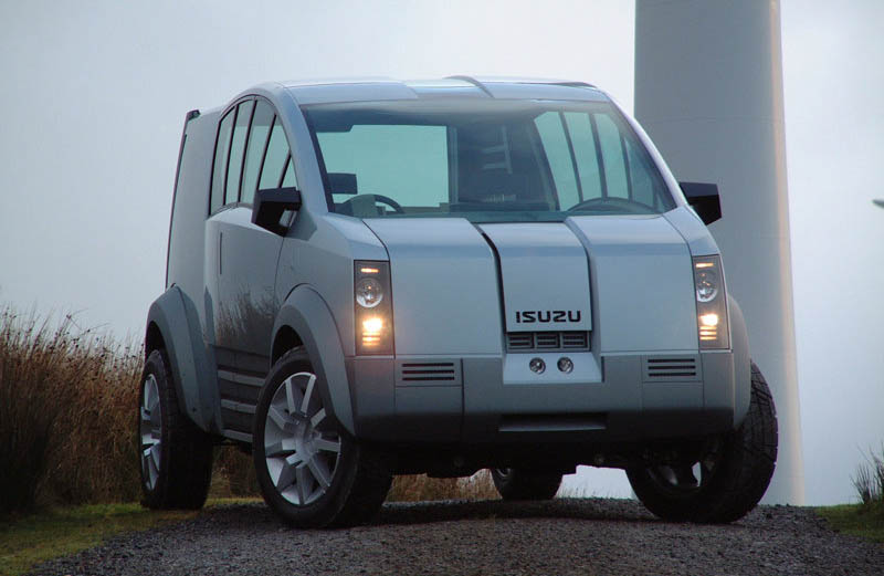 2001 Honda Model X Concept. Isuzu Zen Concept, 2001