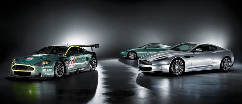 2008 Aston Martin Dbs Racing Green. Aston Martin DBS, 2008