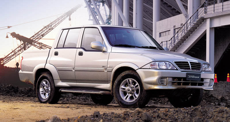 SsangYong Musso Sports, 2005