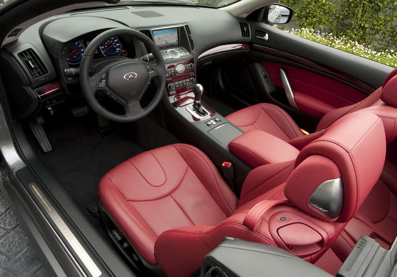 automobile infiniti. The Infiniti G37 Convertible,