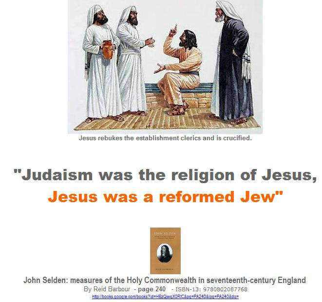 Jesus was a reformed Jew
