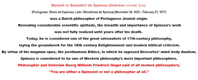 You are either a Spinozist or not a philosopher at all