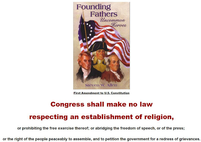 Forbidding a state religion