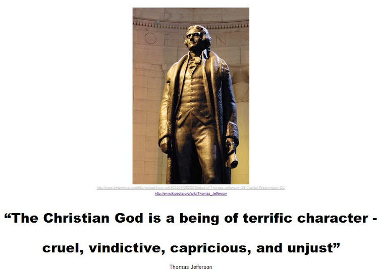 Thomas Jefferson on the Christian God