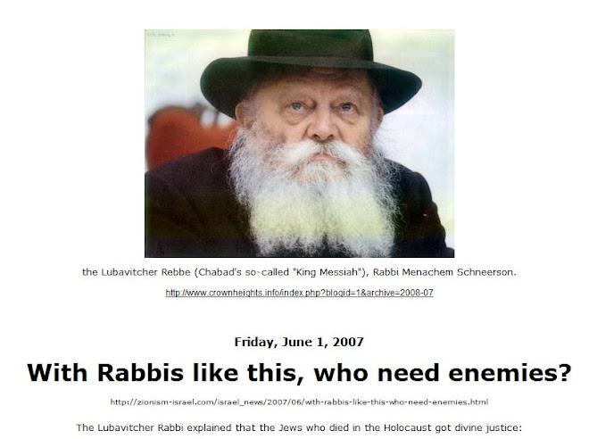 Holocaust? Divine justice