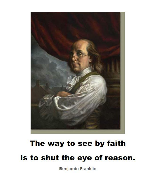 To shut the eye of reason