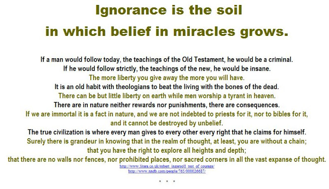 Ignorance and miracles