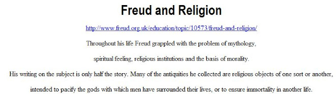 Freud and Religion - 1