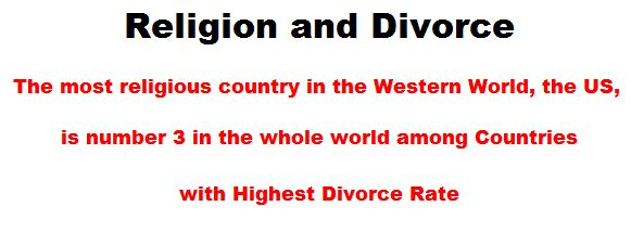 Religion and Divorce