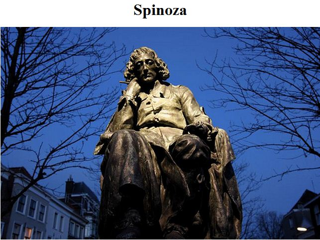 "Spinoza was intent on disproving any sense of ""chosen people"""