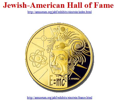 Einstein - Jewish-American Hall of Fame