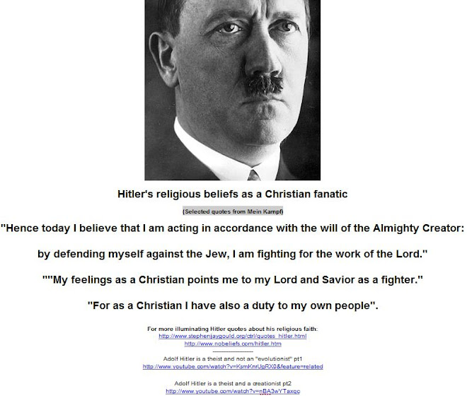 adolf hitlers religious belief and fanaticism Hitlers first apparently involuntary occult experiences came to him  hitler was not considered suitable for a religious life,  and contrary to popular belief,.