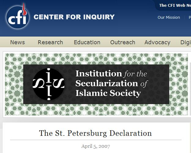 The Institution for the Secularization of Islamic Society
