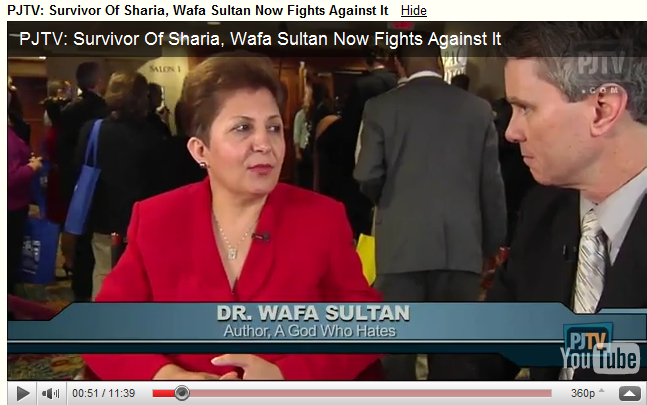 Survivor Of Sharia, Wafa Sultan Now Fights Against It
