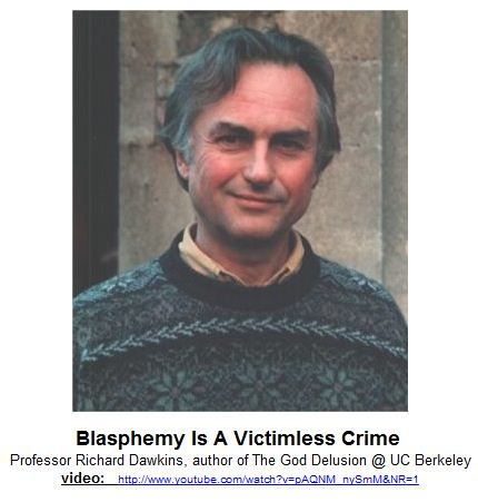 Blasphemy Is A Victimless Crime