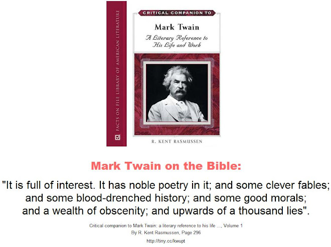 Mark Twain on the Bible