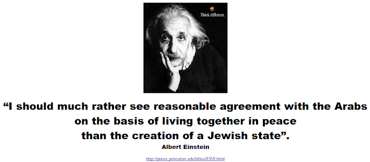 I should much rather see reasonable agreement with the Arabs than the creation of a Jewish state