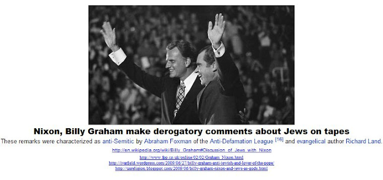Nixon, Billy Graham make derogatory comments about Jews on tapes
