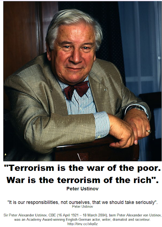 Terrorism is the war of the poor
