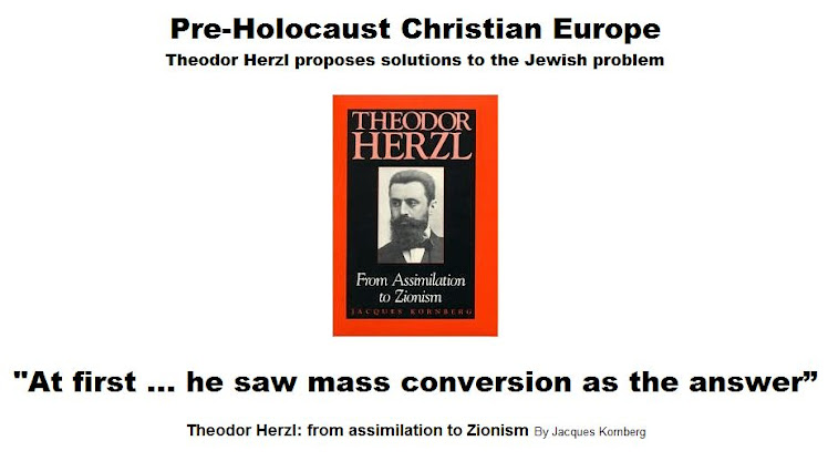 Theodor Herzl - from assimilation to Zionism