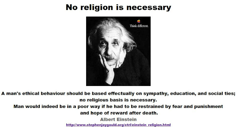 No religion is necessary.