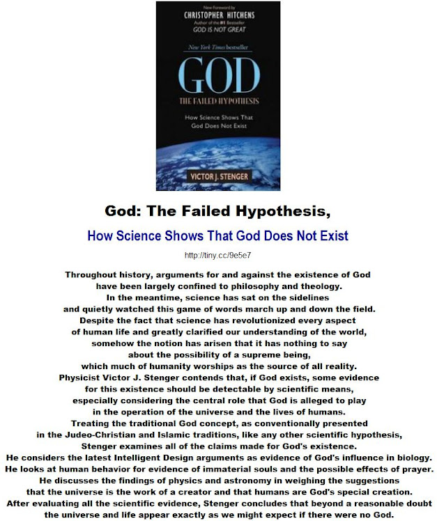 God - The Failed Hypothesis. How Science Shows That God Does Not Exist