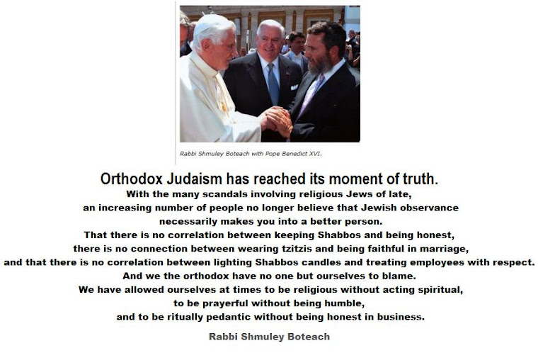 Orthodox Judaism has reached its moment of truth