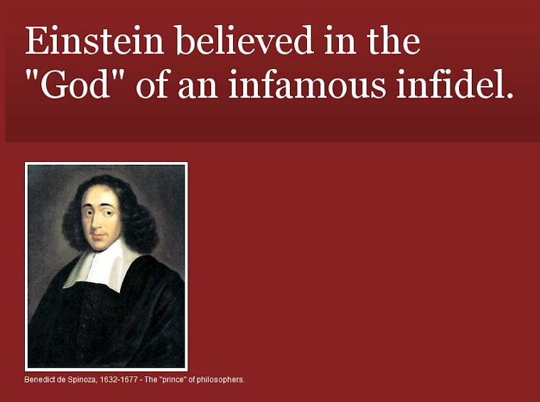 Einstein Believed in the God of an Infidel!