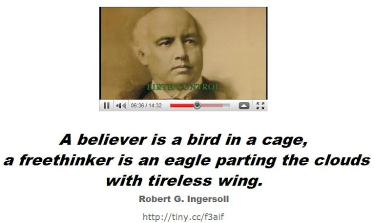 A believer is a bird in a cage