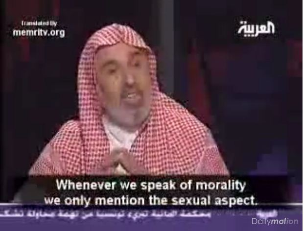 Ibrahim Al-Buleihi - morality for us is skewed must not mainly focus on sex.
