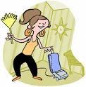 music makes boring chores interesting